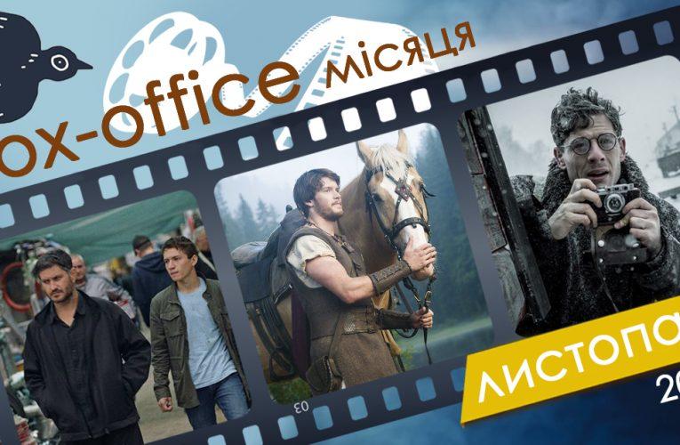Бокс-офіс українських фільмів у листопаді 2019 року