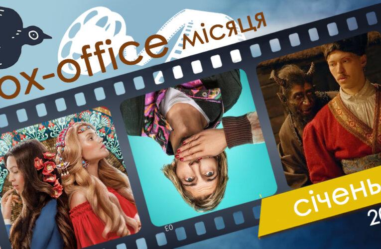 Бокс-офіс українських фільмів у січні 2020 року