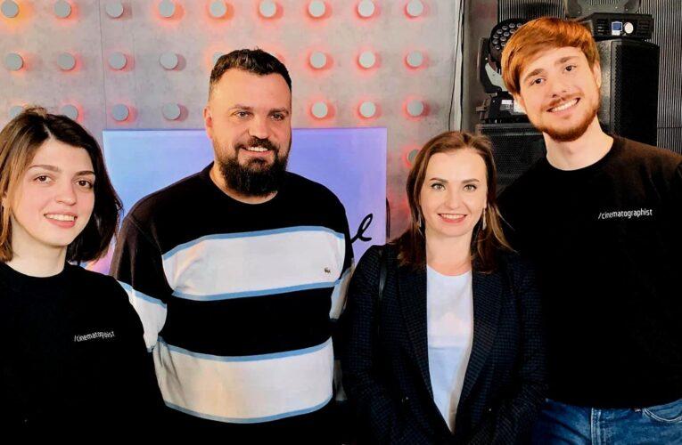 Платформа Сінематографіст організувала зустріч кіноспільноти з Анною Мачух та Пилипом Іллєнко