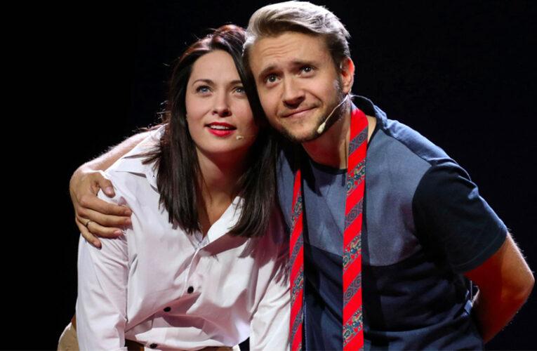 Коли опускаються руки: українські актори Наталка Кобізька та Юрій Родіонов влаштували перфоманс на TEDx