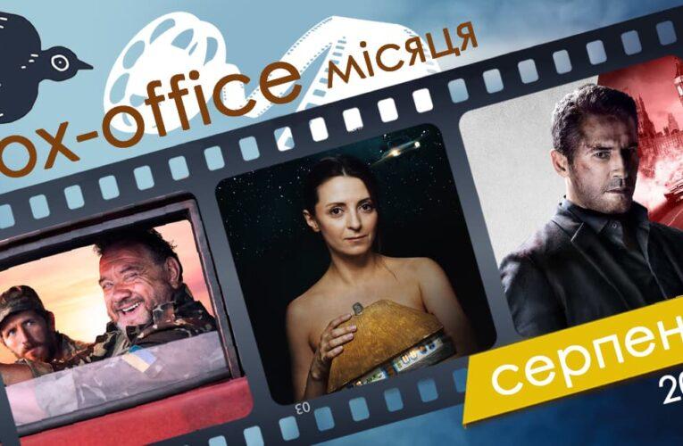 Бокс-офіс українських фільмів у серпні 2020 року