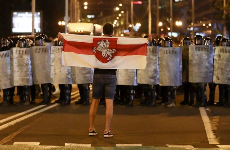 Netflix снимает в Минске и Киеве фильм о протестах в Беларуси