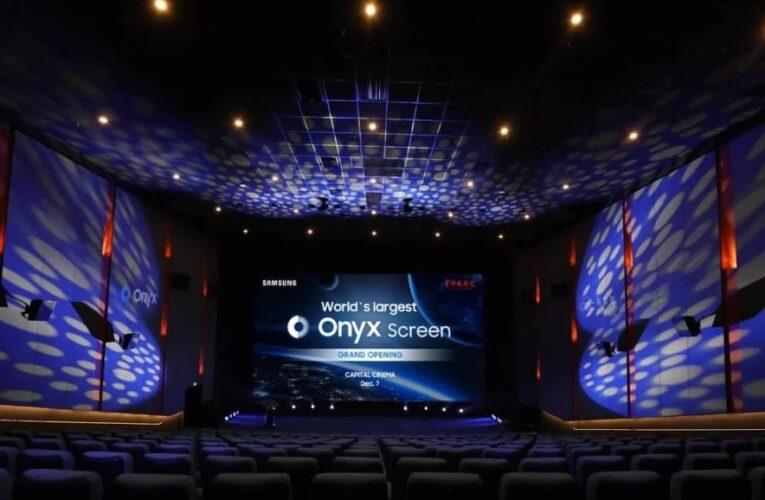 В Києві на Позняках відкрився кінотеатр Miromax – перший у Східній Європі на основі LED-технології Samsung Onyx