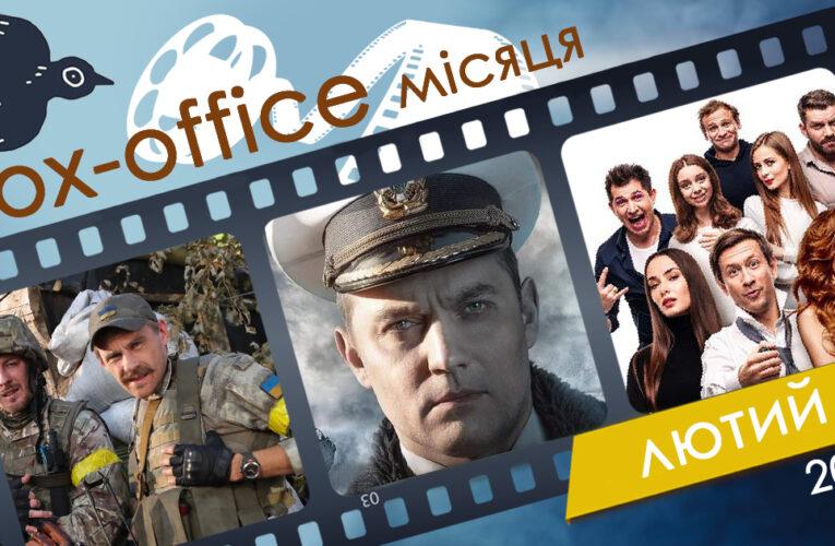 Бокс-офіс українських фільмів у лютому 2020 року