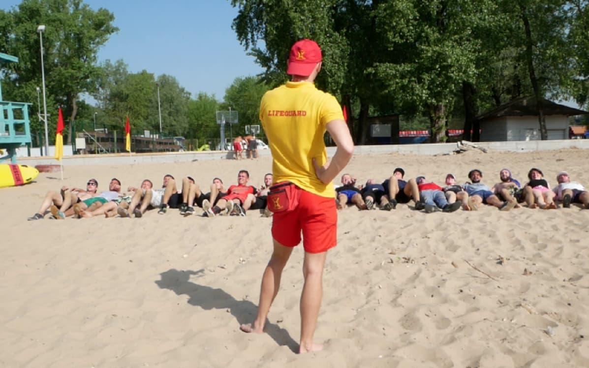 Стежками київських пляжів