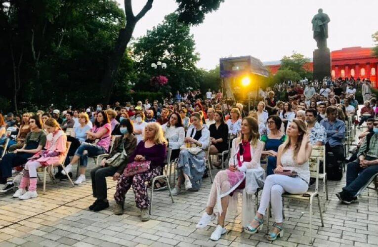Второй «Киновернисаж под открытым небом» показывает украинское кино бесплатно