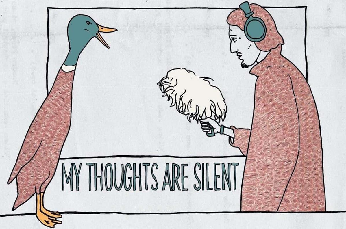 Мої думки тихі