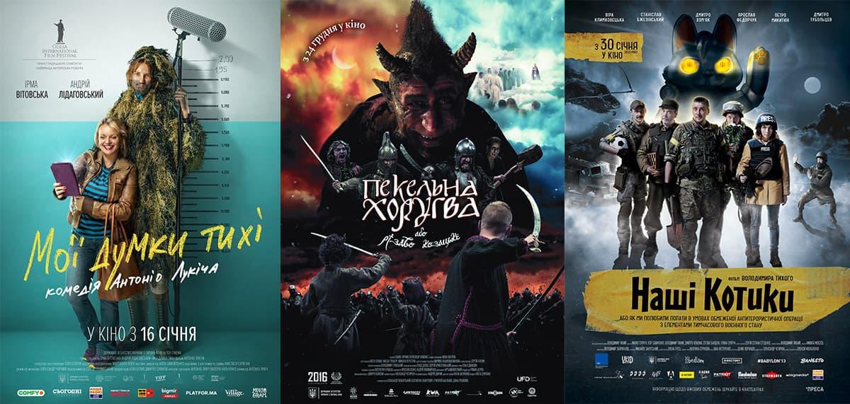 найкасовіші українські фільми 2020